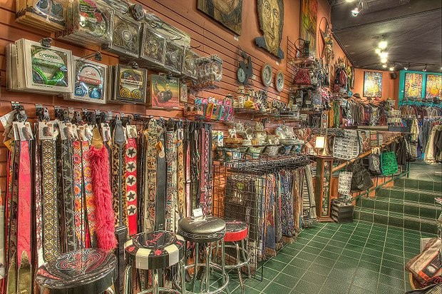 Wild About Music - Downtown Austin Music Gift Shop