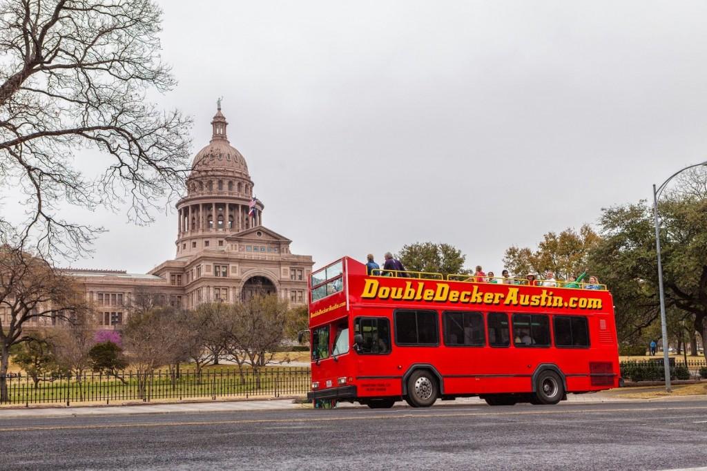 Double Decker Bus Tours of Austin