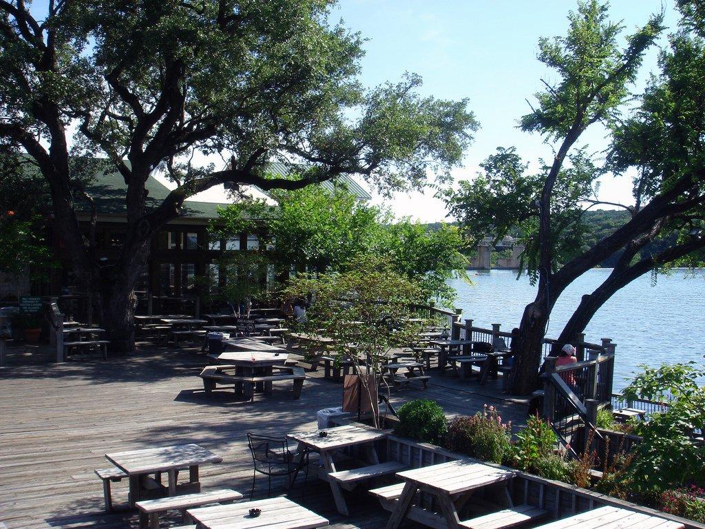 Motzart's Coffee Roasters on Lake Austin