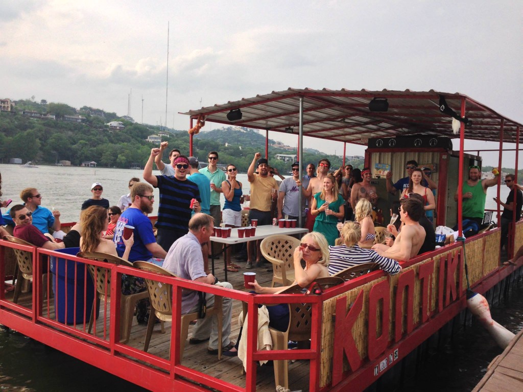 Kontiki Fun Boat - Lake Austin Party Barge
