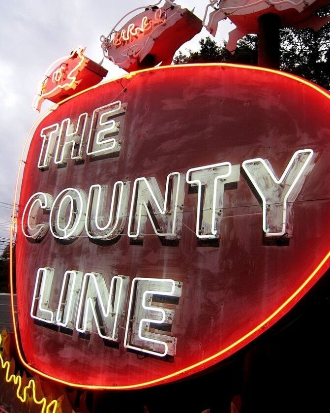 County Line on the Lake