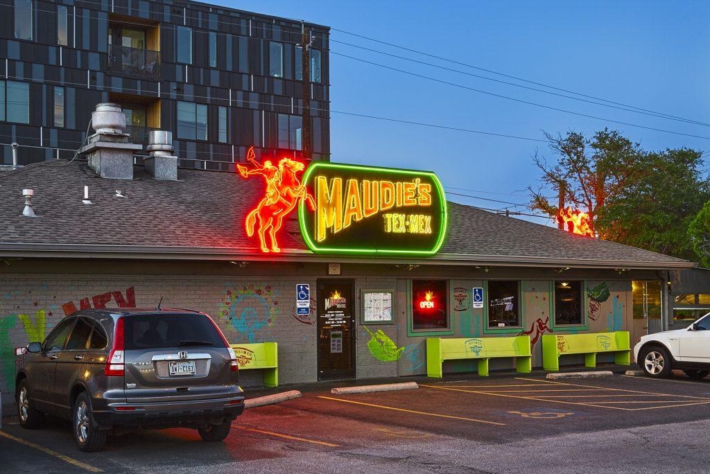 Maudies Tex Mex on South Lamar