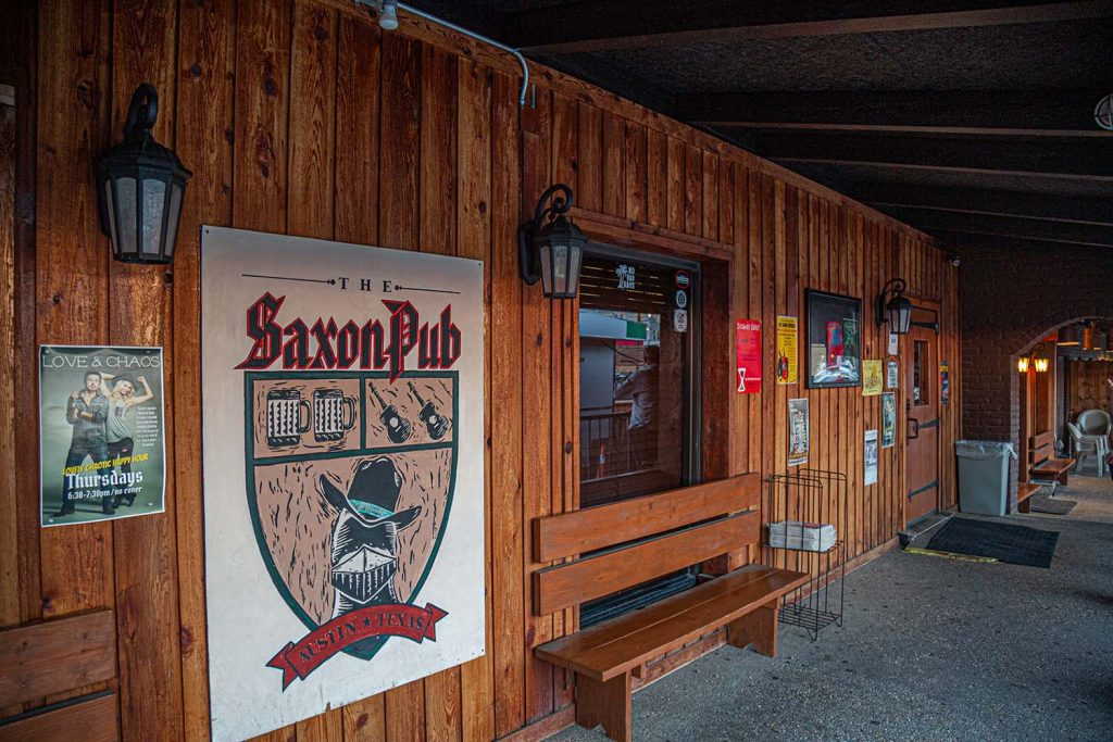 The Saxon Pub - Iconic Austin Music Venue on South Lamar since 1990