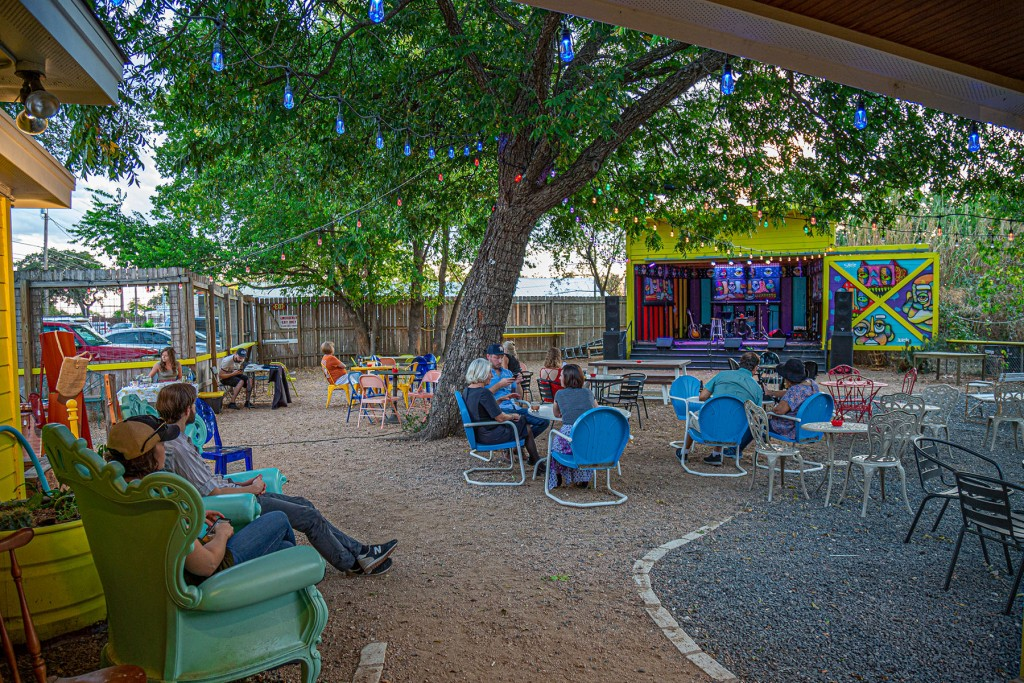 The Far Out Lounge and Stage - Way South Austin bar and live music venue