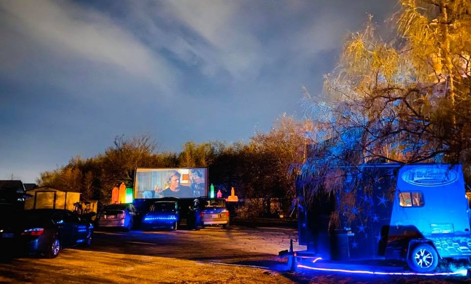Blue Starlite Mini Urban Drive In Theater - Austin Drive In Theatre