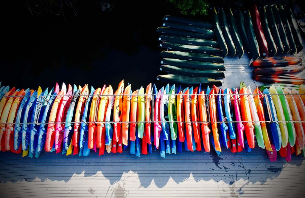 Rowing Dock - Austin Kayaking & Canoe Rental Lady Bird Lake