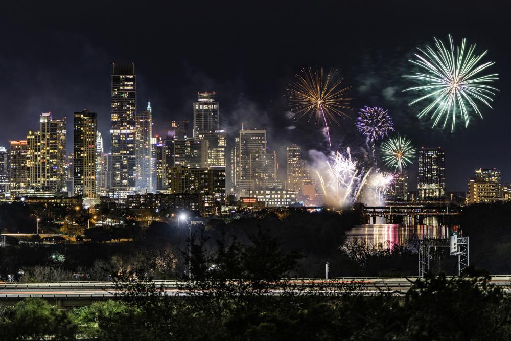 Austin 4th of July Fireworks - Gino Barasa